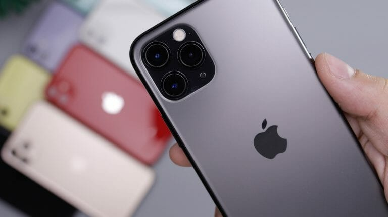 space gray iPhone 11 Pro