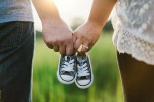 holding hands, shoes, little